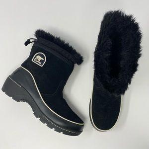 Sorel Tivolli III Pull On Winter Boots Black Size 8